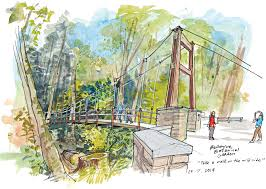 Rock Garden Bellevue by Nature The Seattle Sketcher Seattle Times