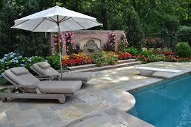 Landscaping Around Pool Pool Design Blog