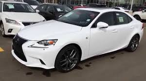 lexus is 350 interior 2017 new ultra white on black 2015 lexus is 350 awd f sport series 3