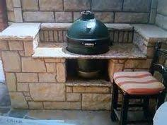 Green Egg Kitchen - big green egg outdoor kitchen outdoor kitchen pinterest big