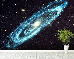galaxy wall mural spiral galaxy wallpaper wall mural wallsauce usa