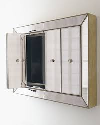 mirror cabinet tv cover flat screen tv wall cabinets mirror cabinet tv covers pottery barn