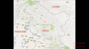 Google Map Of The World by Google Map Shows Kashmir Differently In India And Rest Of The