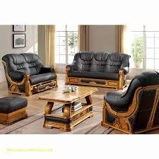 canapé cuir et bois rustique canapé cuir rustique meilleur de pin canapé rustique 3 places cuir