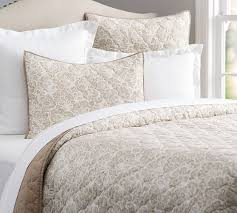 What Is A Bedding Coverlet - clio reversible coverlet u0026 sham flax pottery barn
