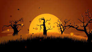 a halloween background a creepy graveyard halloween background scene spooky trees