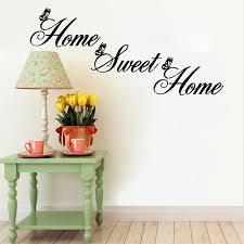 ishowtienda english words writing home decor wall stickers diy