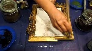 dipingere cornici rendiamo antica una cornice fai da te arte per te