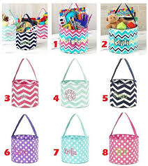 wholesale easter buckets best 25 monogrammed easter baskets ideas on initial