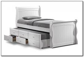 white barcelona single bed frame by julian bowen image is loading