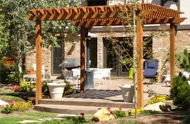 Building A Freestanding Pergola by Home Dzine Garden How To Build A Freestanding Or Wall Mounted