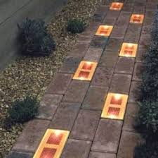 Solar Patio Lighting Solar Patio Lights Gadgets Toys Pinterest Solar Bricks