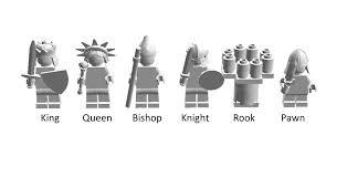 lego ideas minifigures chess set