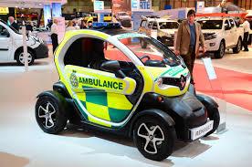renault twizy f1 renault twizy cargo ambulance unveiled