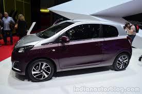 peugeot 108 hatchback and convertible geneva live
