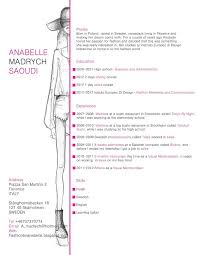 Example Resume For Internship by Best 25 Fashion Resume Ideas Only On Pinterest Internship