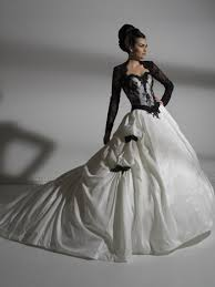 brautkleid schwarz weiss im trend brautkleider in schwarz und weiß foreverly magazin