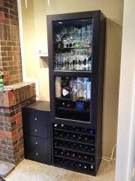 Wine Bar Furniture Modern by How To Combine Ikea Items To Build Your Own Wine Rack