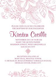 Baptismal Invitation Card Design Catholic Baptism Invitations Catholic Christening Invitations