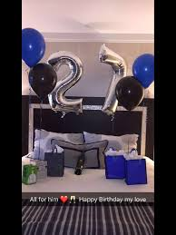 birthday balloons for him 25 cool birthday gifts your boyfriend will handmade