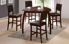 47 Enrica Triangle Counter High Dining Table Set