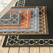 Suzanne Kasler Quatrefoil Border Indoor Outdoor Rug Kasler Quatrefoil Border Indoor Outdoor Rug Ballard Designs