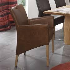 Esszimmer Sessel Kaufen Esszimmersessel Roper In Braun Aus Kunstleder Pharao24 De