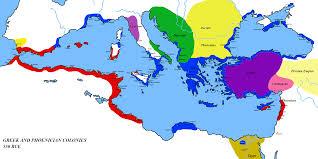 Google Maps Greece by Phoenicians Colonize Spain With Settlement At Cadiz Google