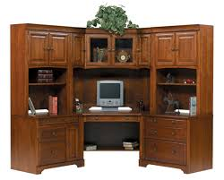 Wood Corner Desk With Hutch Americana Home Office Modular Corner Desk 3638