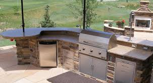 diy outdoor kitchen island how to build a built in grill crafts home