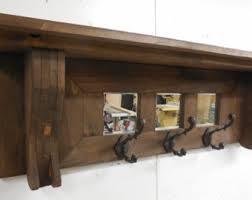 primitive coat rack rustic wall shelf primitive wall shelf