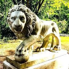 lions statues for sale garden statues lion garden statues large garden statues resin lion