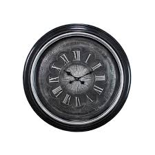 kiera grace genoa oversized 23 in wall clock with raised numbers