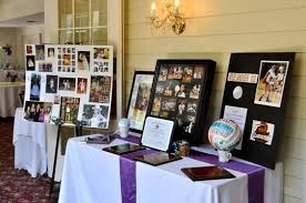 graduation party ideas graduation party ideas memory table set up time capsule company