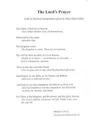 words of the lord u0027s prayer with its spiritual interpretation by