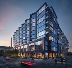 a debut for the first condos at the yards