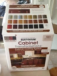 Rustoleum Cabinet Transformations On Melamine Kitchen Cabinet Transformation Stephanie Carroll