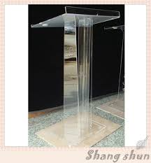 Church Office Furniture by Online Shop Crystal Acrylic Lectern Glass Pulpit For Church Church