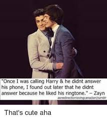 Meme Ringtones - once i was calling harry he didnt answer his phone i found out