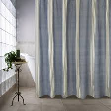 Gray And Yellow Chevron Shower Curtain by Curtain Creates A Glittering Atmosphere For Your Bathroom With