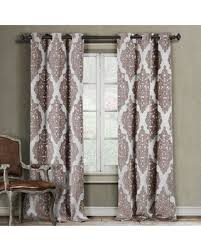 Duck River Window Curtains Amazing Deal On Duck River Catilie Grommet Curtain Panel Pair Taupe