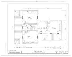 Historic Italianate Floor Plans File John Delaplane House State Route 623 Delaplane Fauquier