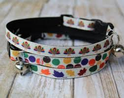 fall cat collar etsy