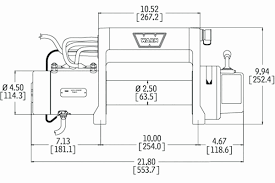 winch wiring diagram awesome mile marker recovery winches inside