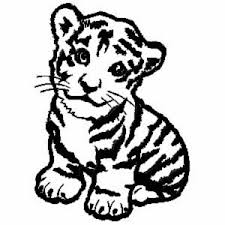 tiger animal coloring pages exprimartdesign