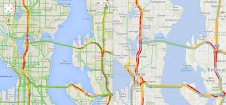 seattle map traffic inrix partners with volkswagen improves traffic technology to