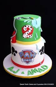 paw patrol cake figures handmade edible fun pj