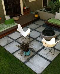 Ideas For Installing Patio Pavers Inexpensive Patio Idea I Hope So Gonna Try Something Like This