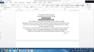 copy and paste the createspace template youtube