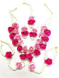 flower jewellery buy floret jewellery beautiful pearl designer pink flower